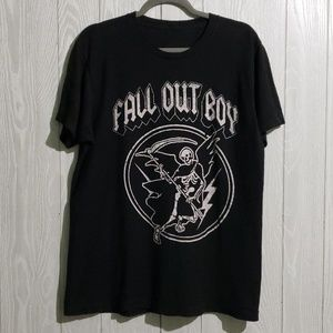 Other - Fall Out Boy AC/DC Style Graphic Tee